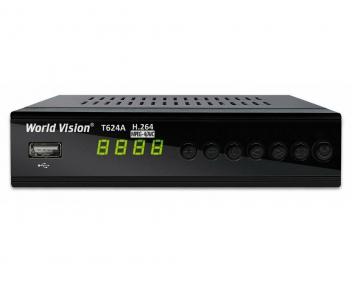 TV-тюнер World Vision T624A обучаемый пульт