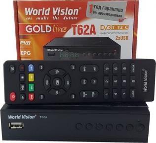 Ресивер World Vision T62A Т2/С, Стандартный пульт