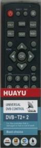 Пульт универсал для HUAYU DVB-T2+2 ELECTRONICS