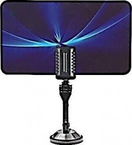 Антенна LUMAX комнатная LU-HDA02, DVB-T2, активная