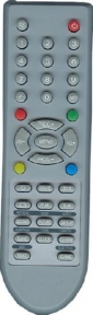 Пульт BC-3010-06R правая нижняя кнопка GAME для телевизора AKIRA