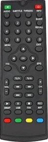 Пульт DVB-T2 T35 для эфирных ресиверов WORLD VISION