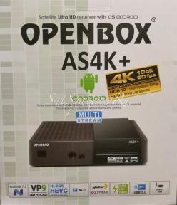 Спутниковые ресиверы Openbox AS4K+ Multi Stream