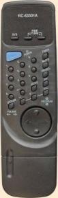 Пульт RC-63301A для телевизора ERISSON