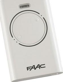 Пульт FAAC XT2 868 SLH LR 2-х канальный 868MHz model: 787009-1