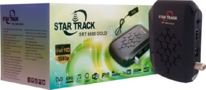 Ресивер StarTrack SRT 6600 Gold S2 / T2MI / HDMI
