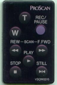 Пульт VSQW0015, 221285 оригинальный для телевизора PROSCAN