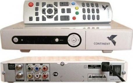 Спутниковый ресивер Continent CSD01/IR