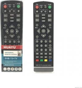 Пульт HUAYU для ресиверов DVB-T2+TV 2019 год