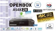 Спутниковые ресиверы Openbox AS4K 2X Multi Stream